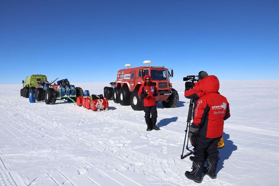Антарктида, съемки Валдиса Пельша