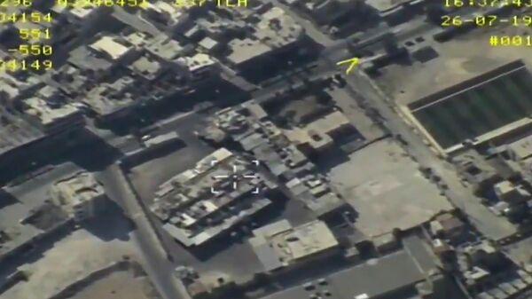Аэросъемка рынка в Маарет-ан-Нууман в Сирии