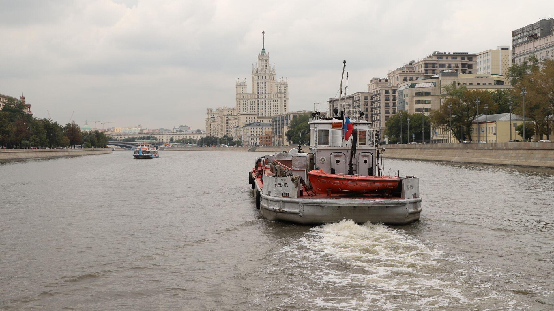 Москва-река - РИА Новости, 1920, 31.07.2019