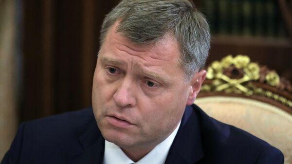 Губернатор Астраханской области Игорь Бабушкин