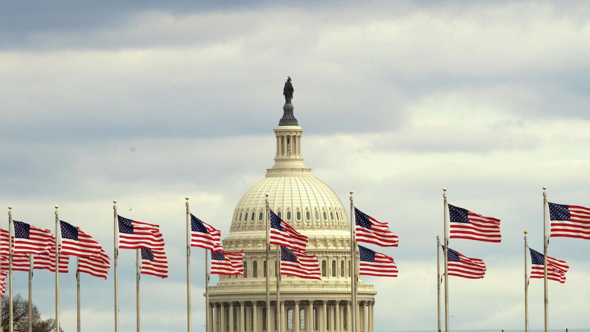 Здание Конгресса США на Капитолийском холме в Вашингтоне - РИА Новости, 1920, 26.08.2019