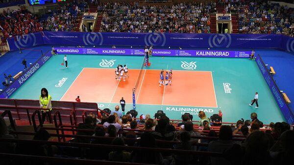 Волейбол. Женщины. Олимпийский отбор. Матч Россия – Мексика