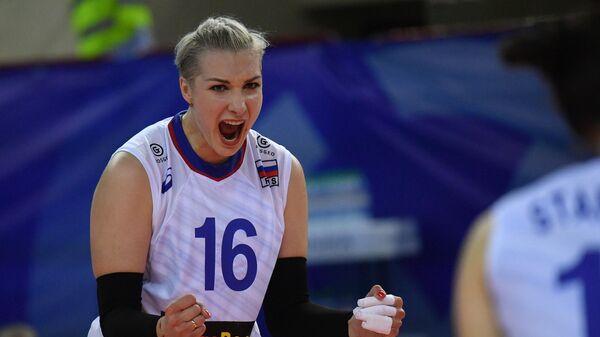 Волейболистка сборной России Ирина Воронкова