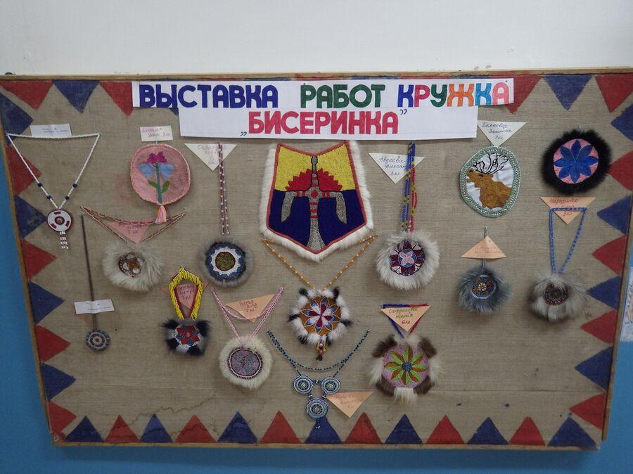 Выставка учеников Суриндинской школы