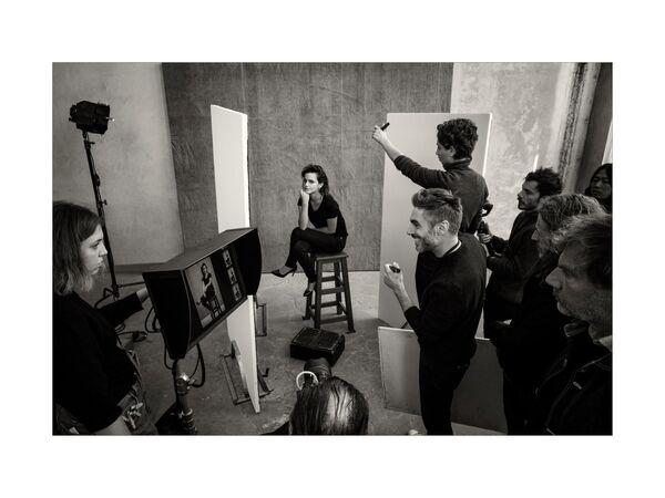 Эмма Уотсон на съемках календаря Pirelli