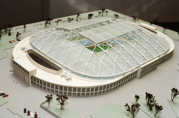 Макет стадиона