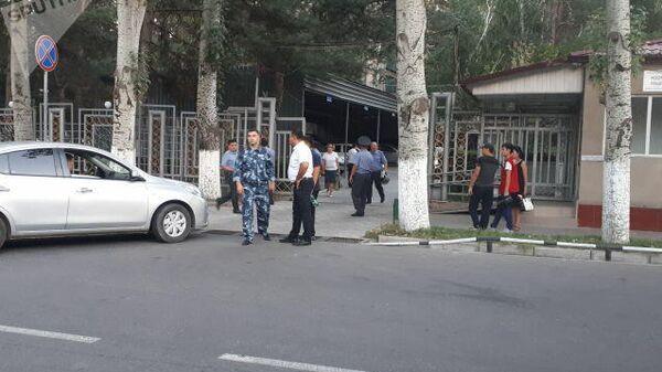 Ситуация у здания МВД Киргизии. 8 августа 2019