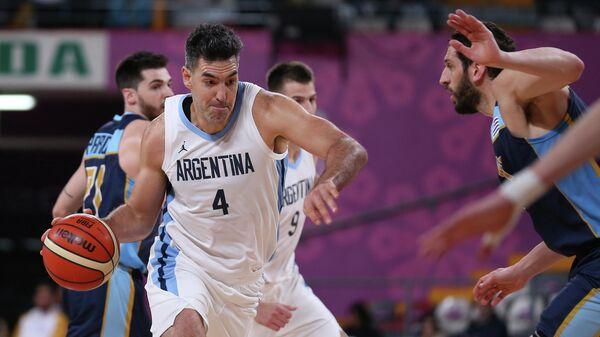 Форвард сборной Аргентины по баскетболу Луис Скола