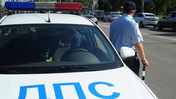 Инспектор дорожно-патрульной службы