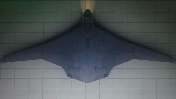 Будущий российский бомбардировщик шестого поколения ПАК-ДА