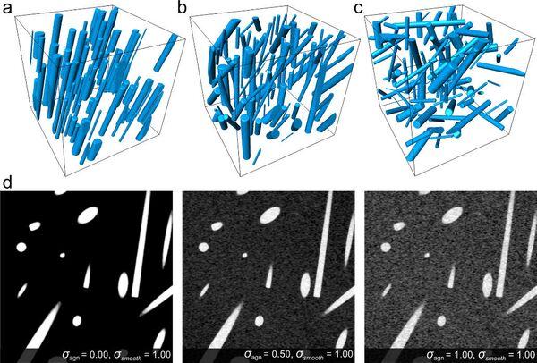 Изображения конфигураций полимерных волокон скаффолда