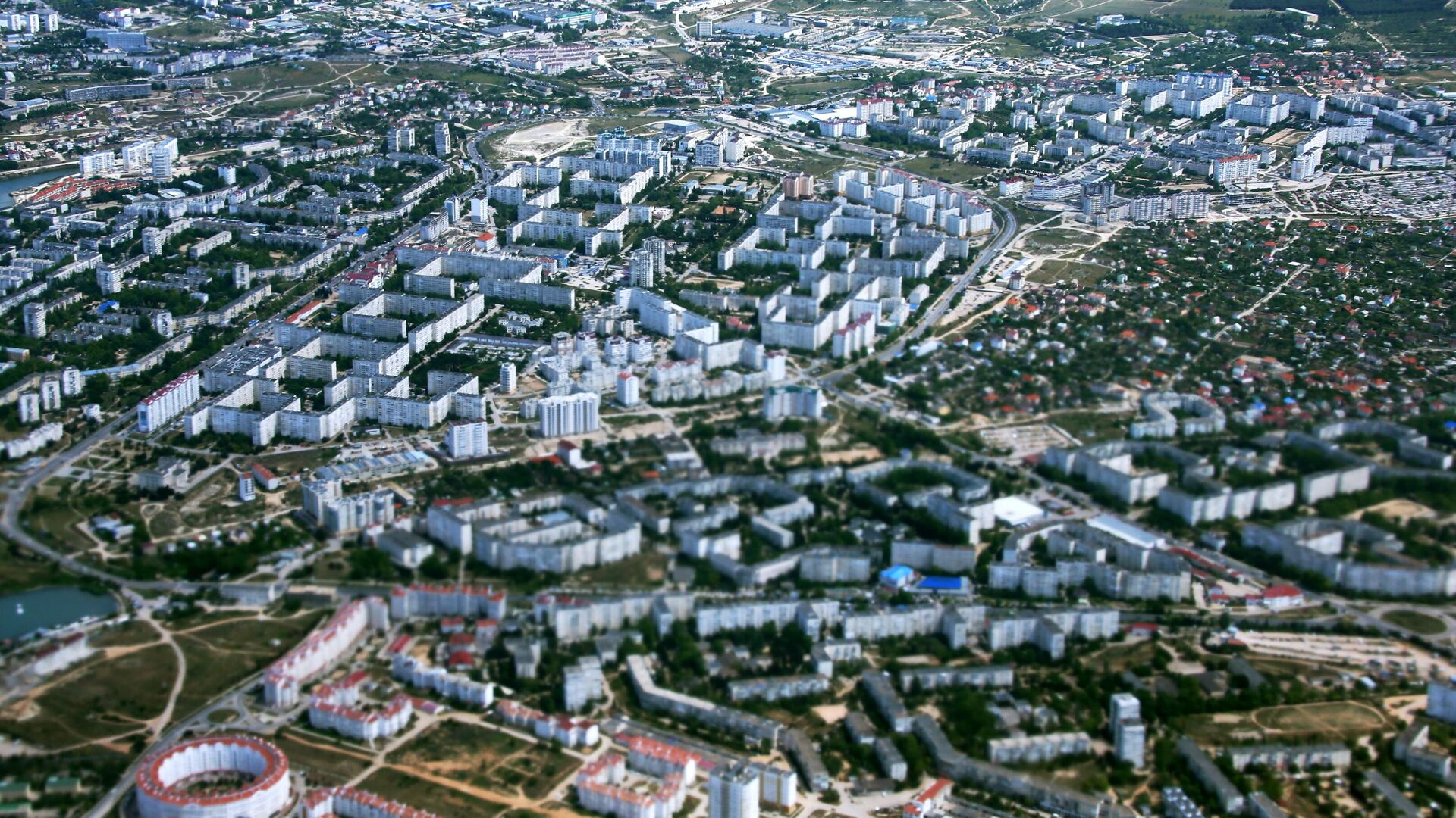 Вид на Севастополь из окна самолета - РИА Новости, 1920, 05.12.2020
