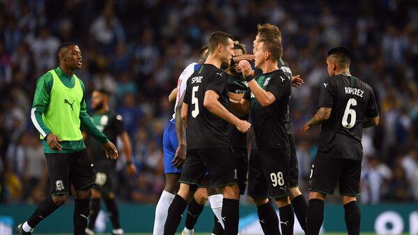 Футбол. Лига Чемпионов УЕФА. Матч Порту - Краснодар