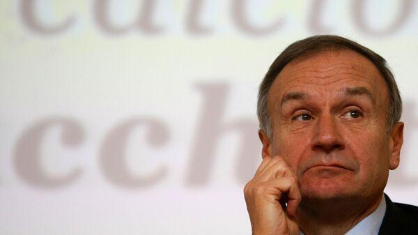 Президент национального олимпийского комитета Италии Джованни Малаго