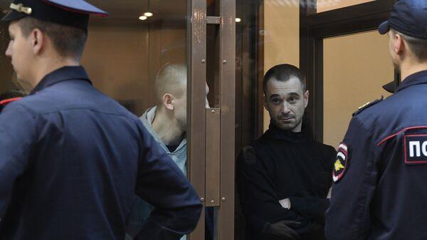 Рассмотрение жалоб на арест украинских моряков Сергея Цыбизова и Романа Мокряка