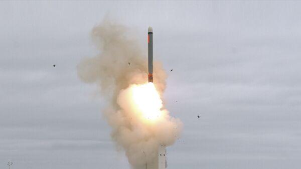 Испытание крылатой ракеты на острове Сан-Николас в Калифорнии. 20 августа 2019