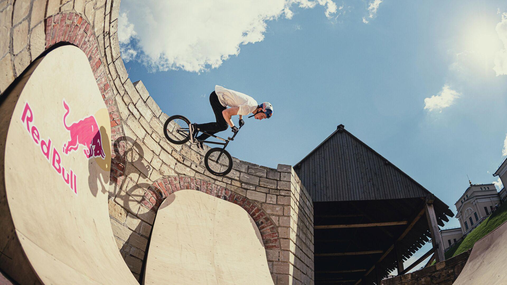 Ирек Ризаев в скейт-парке в Казанском кремле - РИА Новости, 1920, 23.02.2021