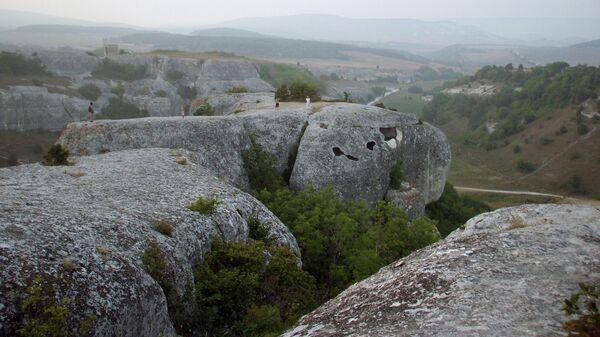 Пещерные комплексы Эски-Кермен