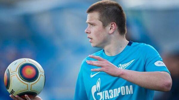 Игрок Зенита Даниил Круговой