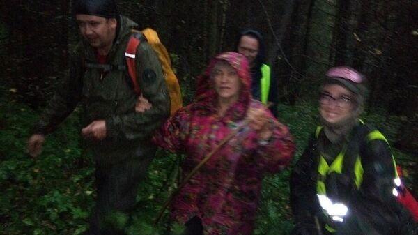 75-летняя женщина, спасенная после 5 суток проведенных в лесу под Пермью