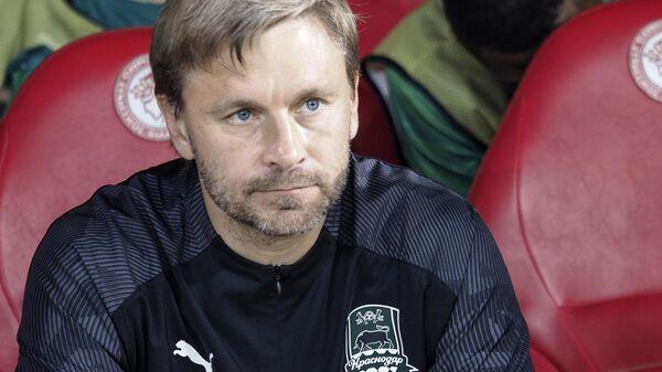 Главный тренер ФК Краснодар Сергей Матвеев