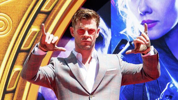 Актер Крис Хемсворт в Marvel Studios