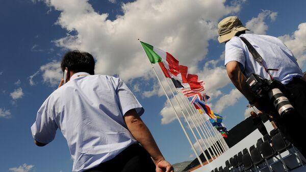 Саммит Группы восьми (G8) в Италии