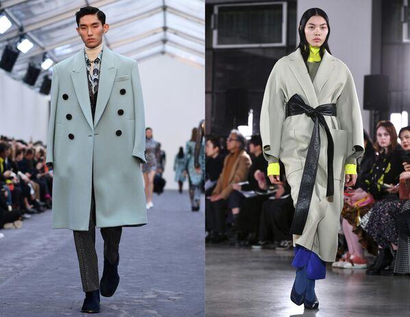 Показ коллекций одежды сезона Осень-Зима 2019/2020 Roberto Cavalli в Милане и Cyclas в Париже