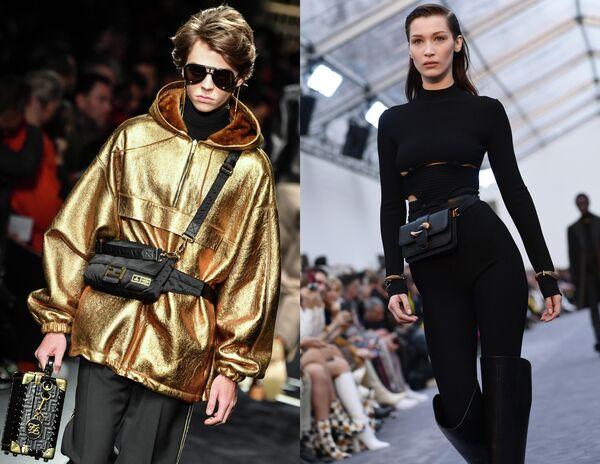 Показ коллекций одежды сезона Осень-Зима 2019/2020 Fendi и Roberto Cavalli в Милане