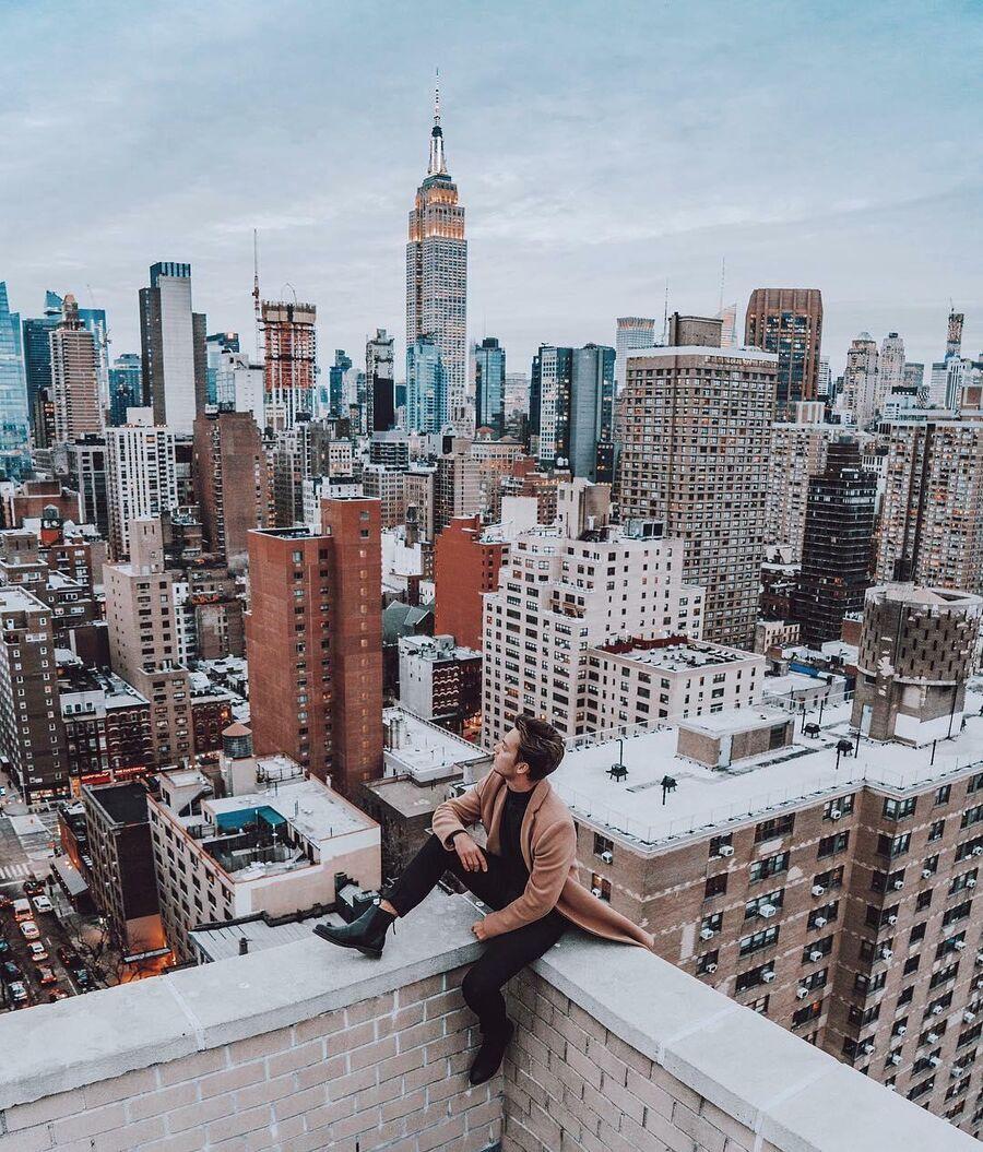 Частная крыша в Нью-Йорке