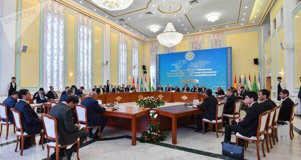 Встреча высокого уровня формата С5+1 в Нур-Султане