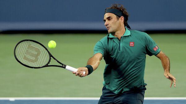 Теннисист Роджер Федерер (Швейцария)