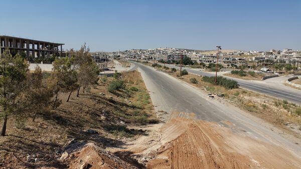 В сирийском Хан-Шейхуне начали восстанавливать инфраструктуру