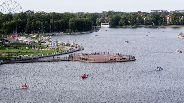 Верхнее озеро в Калининграде