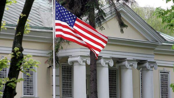 Здание посольства США в Минске