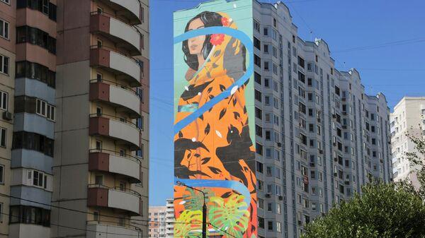 Стрит-арт фестиваль URBAN MORPHOGENESI. Sabek (художник из Испании)
