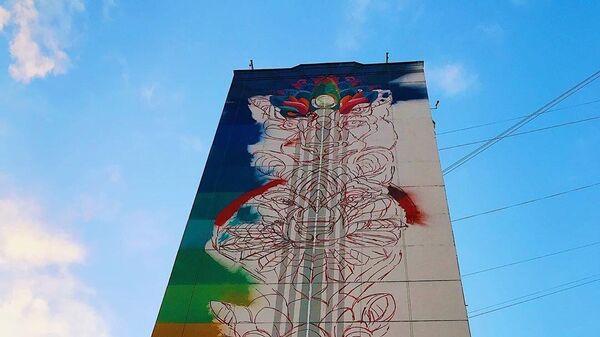 Стрит-арт фестиваль URBAN MORPHOGENESI. Животные, начало