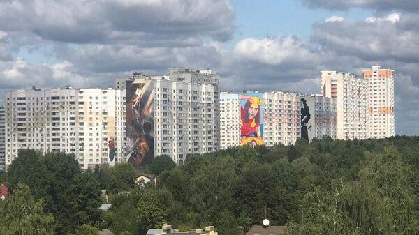 Трехгорка. Панорама. Новая Трехгорка. Urban Morphogenesis