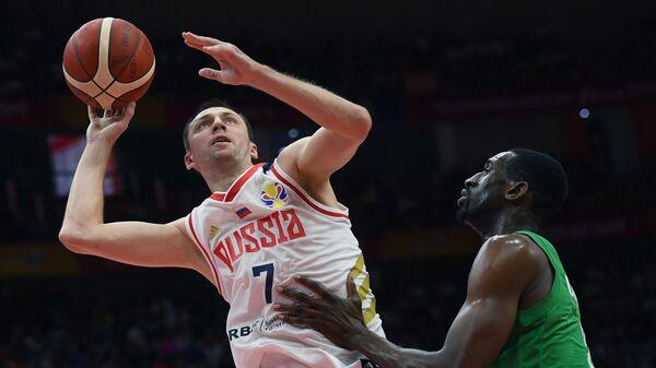 Матч баскетбольного Кубка мира Россия - Нигерия