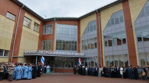 Петропавловская средняя школа в Муромцевском районе Омской области