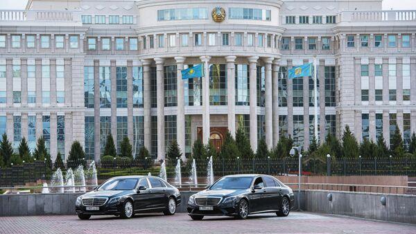 Здание парламента Казахстана в Нур-Султане