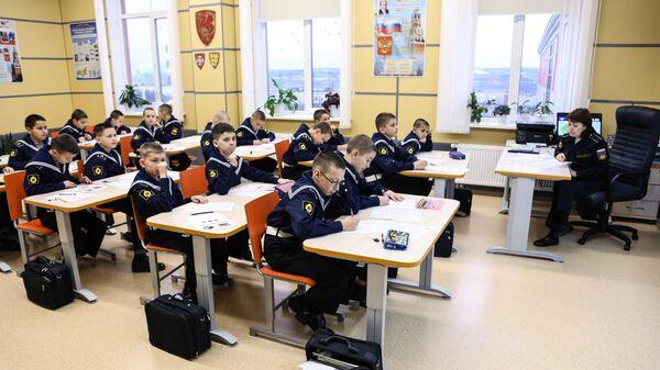 Кадеты  в Мурманском филиале Нахимовского военно-морского училища