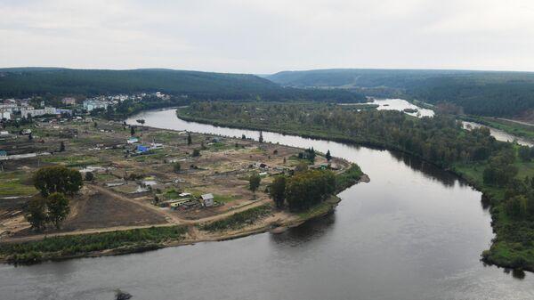 Местность в Иркутской области в окрестностях Тулуна