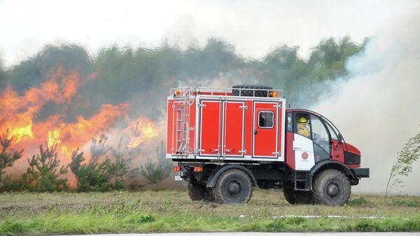 Сотрудники Лесопожарного центра Красноярского края получили новую технику
