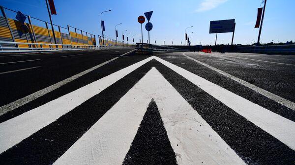 Транспортная развязка на пересечении Бесединского шоссе с МКАД