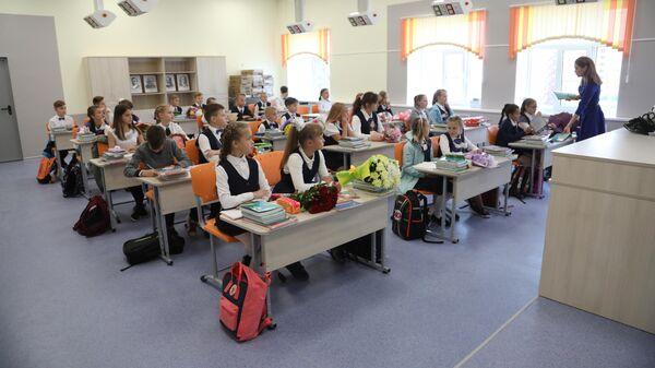 Открытие новой среднеобразовательной школы в Череповце