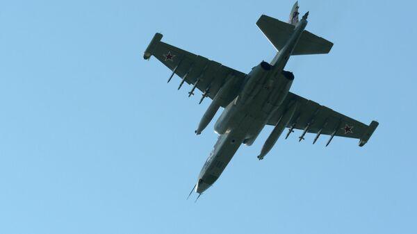 Самолет СУ-25УБ