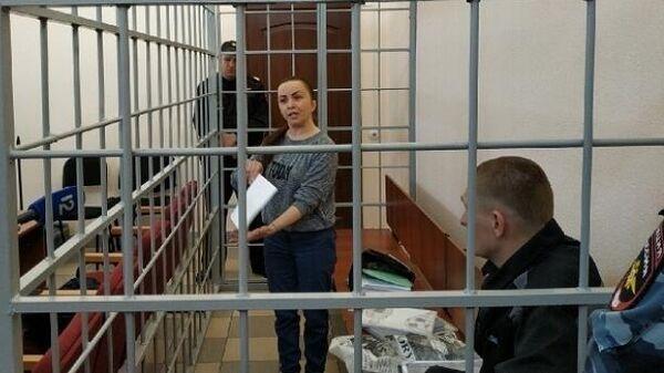 Вера Бегун и ее сожитель Станислав Бердников в суде