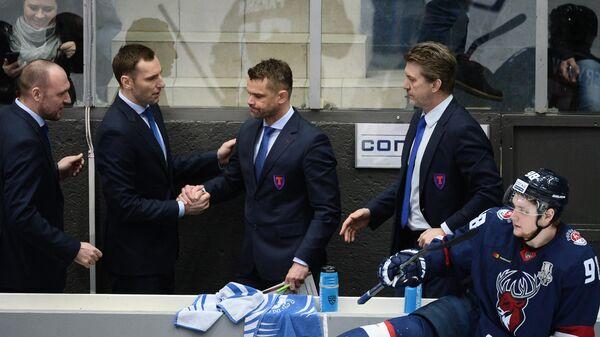 Клемен Мохорич (в центре)