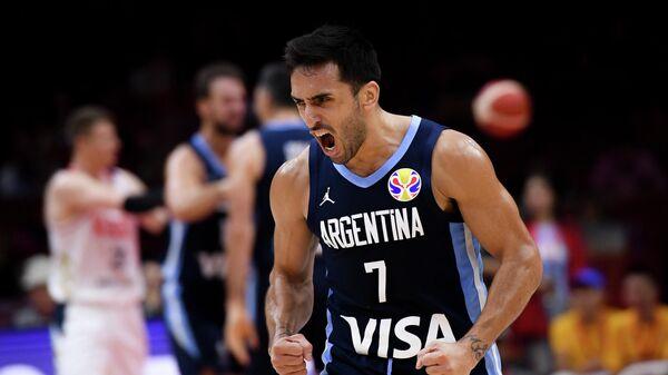 Баскетболист сборной Аргентины Факундо Кампаццо